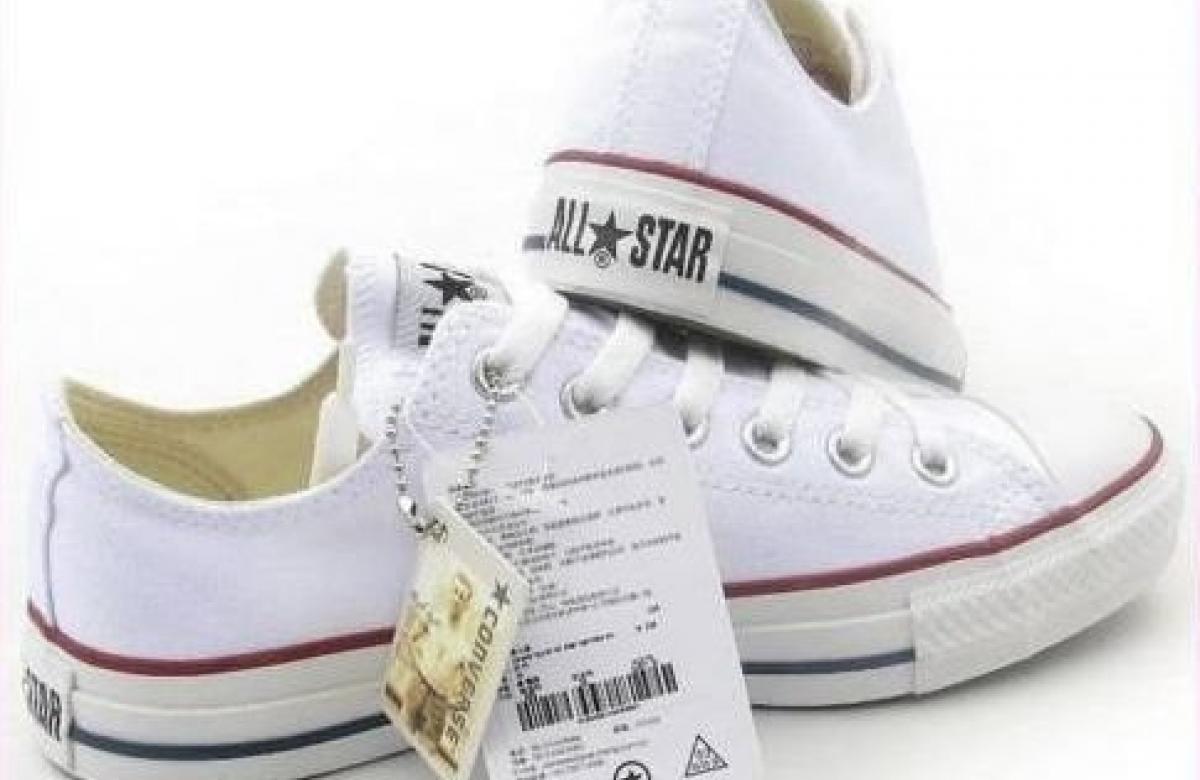 248d34d87f77 AKCE!!! Nové bílé tenisky značky CONVERSE ALL STAR! - 899 Kč - Trendbook