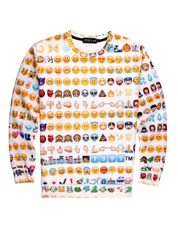 b34d7c891 Cheap Emoji Jogger Sweater - 631 Kč - Trendbook