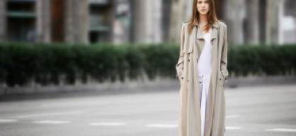 must have: flowy trench coat
