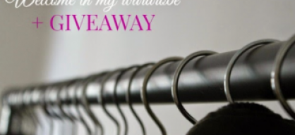 Welcome in my wardrobeGiveaway
