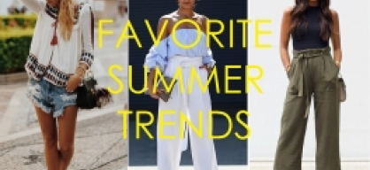 Spot on: Favorite Summer Trends
