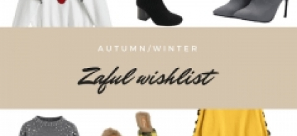 autumn/winter wishlist - Zaful
