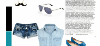 BLUE FASHION