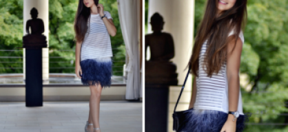 A feather skirt