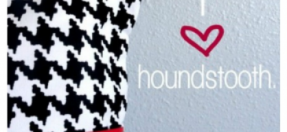 Inspiration - Houndstooth
