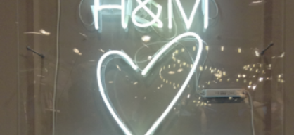 H&M flagship store re-launch