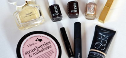 RECENT COSMETICS FAVOURITES