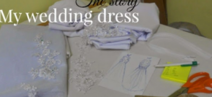The story of my wedding dress